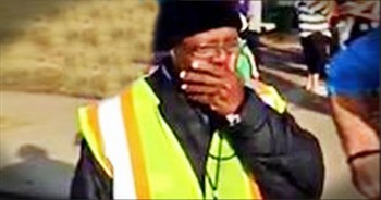 Community Surprises Beloved Crossing Guard With Car For Christmas