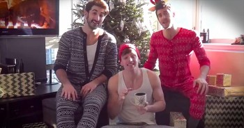 Boys In Silly PJs Sing Beautiful Christmas Medley