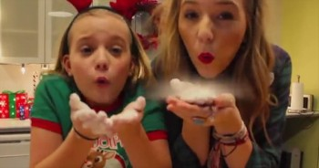 Country-Singing Sisters Perform Fun-Filled Song - 'Christmas Coming Home'