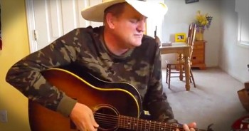 Country Man Marty Brown Sings AMAZING Cover Of 'Blue Christmas'