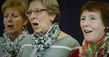 Entire Village Sings 'Amazing Grace' To Help Raise Money For Sick 'Mum'