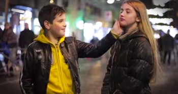 Young Boys React To Violence Against Women. And It'll Have You In TEARS!