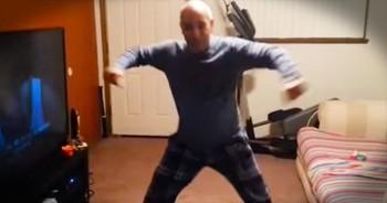 Son Records Father's Amazing Dance Routine