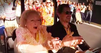 Betty White Surprised With Flash Mob For 93rd Birthday