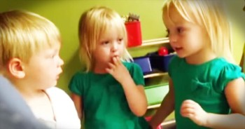 Kids Have Adorable Argument Over The Weather