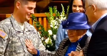 Soldier Moves Promotion Ceremony So Terminally Ill Grandma Can Attend