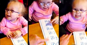 Adorable Grace Anna Learns To Read And It's PRECIOUS!