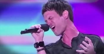 Jeff Gutt Gives Credit To God After Singing 'Hallelujah' At Audition