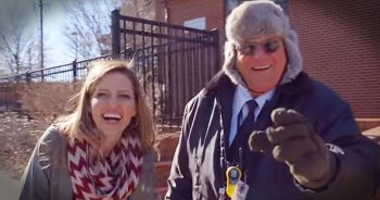 Holderness Family Gives Crossing Guard A Musical Thank You