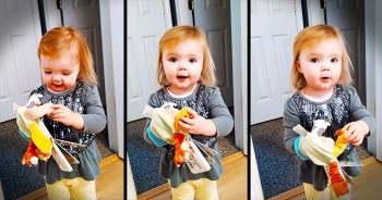 Adorable Toddler Sings 'Old MacDonald Had A Farm' With The Cutest Ending