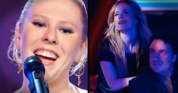 Woman Barely Starts Singing 'Fields Of Gold' Before ALL The Judges Turn Around