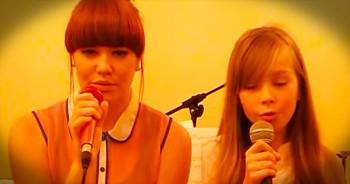 Connie Talbot And Friend Sing Powerful Version Of 'Hallelujah'