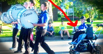 Kind Teacher Helps Student Who Nearly Gave Up Dream Of Playing Drums
