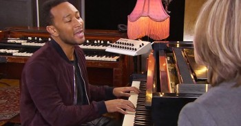Grammy Winner John Legend Sings Soul-Shaking Version Of 'Amazing Grace'