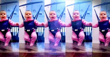 Tiny Tot Will River-Dance Into Your Heart. AWW!