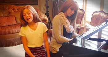 12-Year-Old Lexi Walker Sings Stunning Version Of 'How Great Thou Art'