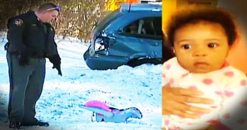 Baby Miraculously Survives Being Thrown 25 Feet In A Car Crash