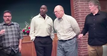 Fathers Singing A Cappella Easter Gospel Will Give You So Many Chills!