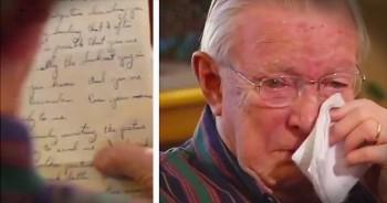 WWII Vet Reads Long Lost Love Letter