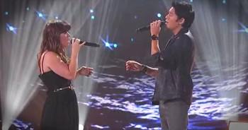 Pop Star Kelly Clarkson Performs CHILLING 'Hallelujah' Duet
