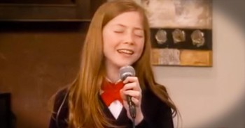 12-Year-Old Sings CHILLING Version Of 'Prayer Of The Children'