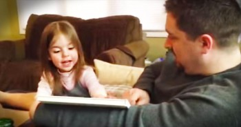 Little Girl Has Hilarious Reaction To Becoming A Big Sister