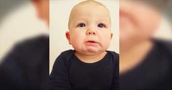 Baby Cries At Daddy's 'Bad' Singing