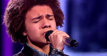 Teen Completely NAILS Cover Of Phil Collins 'Against All Odds'