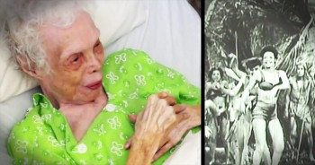 102-Year-Old Dancer Watches Films Of Herself For The First Time