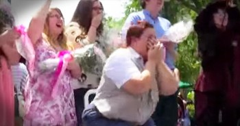Military Son Surprises Mother At Disney World