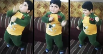 Hilarious Dancing Kid Has The MOVES