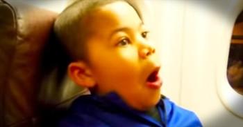 Flight Attendant Surprises Boy With Trip To Disneyland