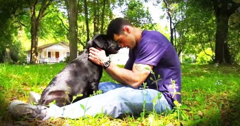 Former Criminal Adopts Dog That Changes His Life