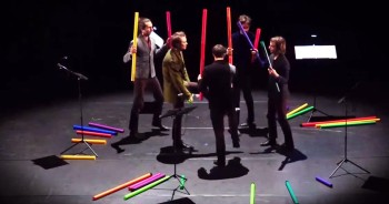 Men Play Bach Prelude With 'Boomwhackers'