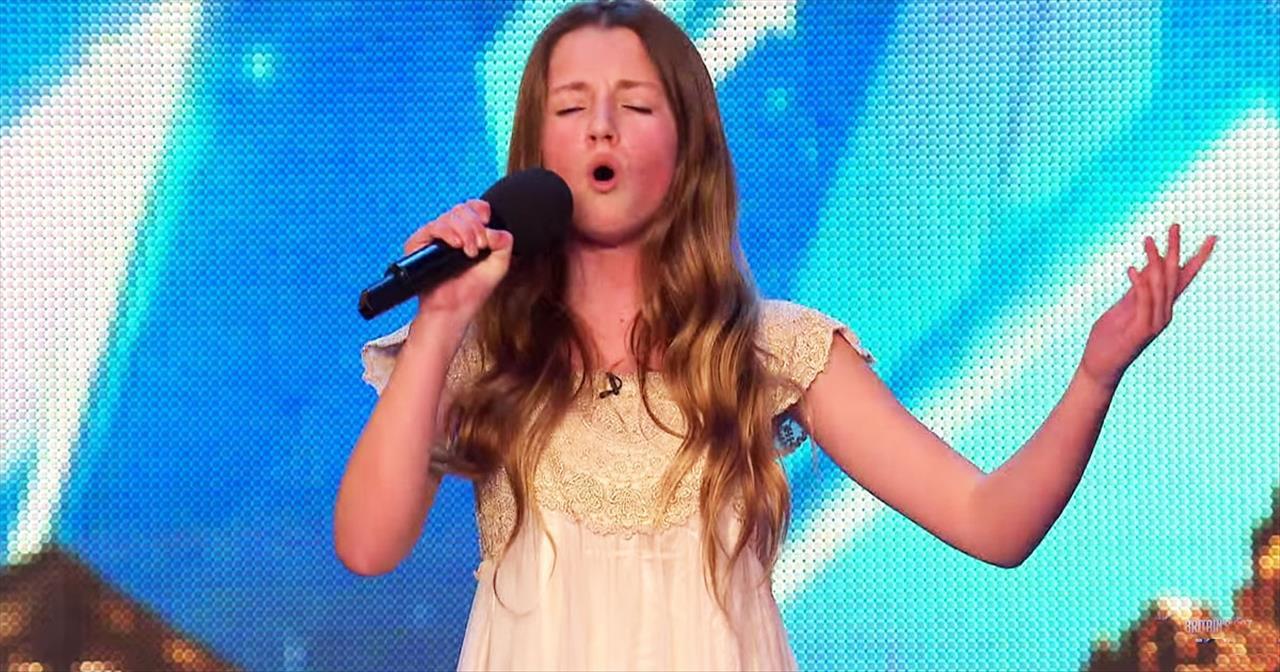 12-Year-Old Maia Gough Whitney Houston 'I Have Nothing' Audition -  Inspirational Videos