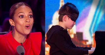 7-Year-Old Piano Prodigy Plays Blindfolded