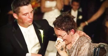 Groom Shares Emotional Dance With Mother With ALS