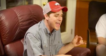 3 Guys Sing Incredible Jam In Their Living Room