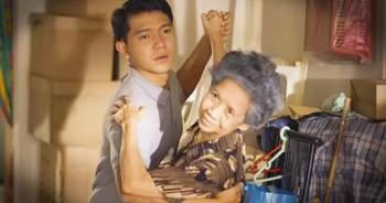 Kind Caretaker Dances With Grandma In Retirement Home