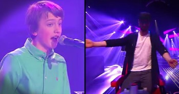 'Great Balls Of Fire!' This 14 Year Old's Audition Brings The Audience To Their Feet