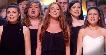165-Piece Welsh Choir Sings Chilling Version Of 'Hallelujah'