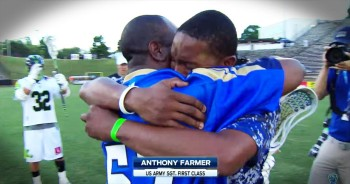 Military Father Surprises Son On Field For Emotional Reunion