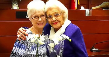 92-Year-Old Adopts 76-Year-Old Woman