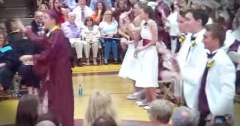 230 Graduates Perform Smile-Worthy Flash Mob