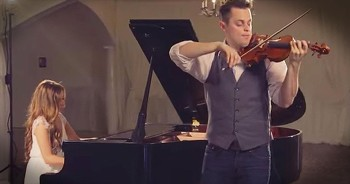Violin And Piano Cover Of 'Hallelujah' Will Take Your Breath Away