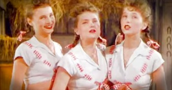 The Ross Sisters Performance Classic Routine 'Solid Potato Salad'