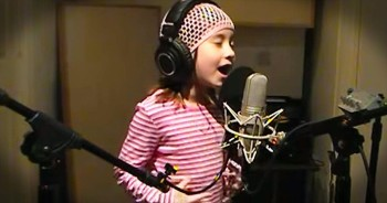 7-Year-Old Sings AWE-Inspiring Rendition Of 'The Star-Spangled Banner'