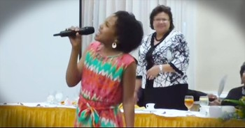 11-Year-Old Sings Amazing Version Of 'Take Me To The King.' WOW!