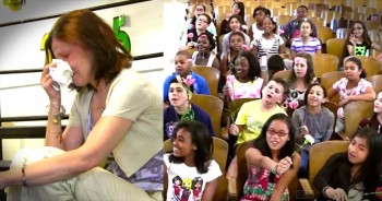 School Choir Will Bring You To Tears Singing For Their Teacher Fighting Cancer