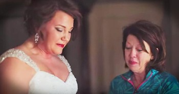 Mother Writes Letter To Daughter And Gives It To Her 20 Years Later At Wedding